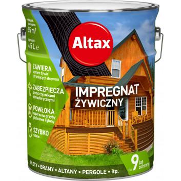 ALTAX impregnat żywiczny do drewna [kolory] 4.5 L