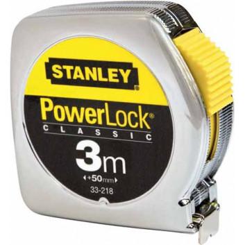 Stanley miara w obudowie chromowanej Powerlock 3m