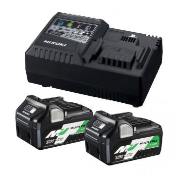 Hikoki ładowarka sieciowa + akumulatory UC18YSL3 WEZ