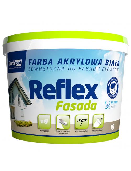 Franspol farba akrylowa Reflex Fasada 10L