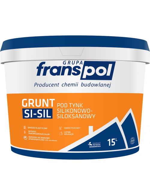Franspol grunt pod tynk silikonowo-siloksanowy 15kg