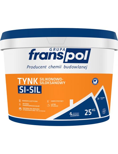 Franspol tynk silikonowo-siloksanowy baranek 25kg