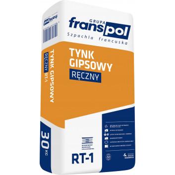 Franspol tynk gipsowy ręczny RT-1