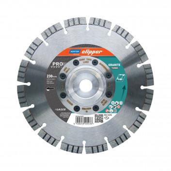 Norton Clipper tarcza diamentowa Pro Granite Turbo
