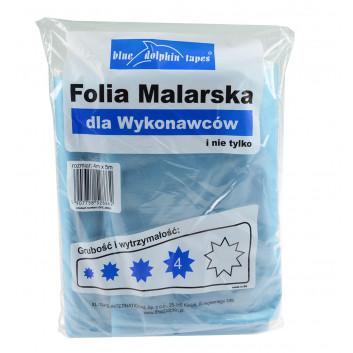 Blue Dolphin folia malarska dla wykonawców 4* 4m*5m