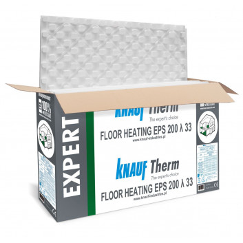 KNAUF Therm EXPERT Floor Heating EPS 200 λ 33 [2 cm]