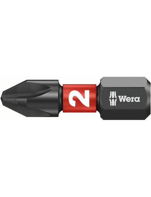 WERA końcówka/grot Impaktor 851/1 [PH2] 25 mm
